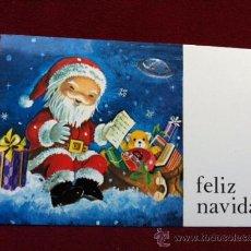 Postales: POSTAL NAVIDEÑA . IMPRESO EN A. G. COBAS - BARCELONA . TAMANO 6.5 X 10.5 CM. Lote 30374640