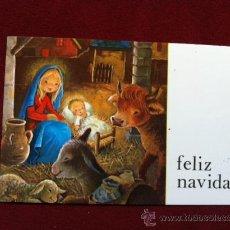 Postales: POSTAL NAVIDEÑA . IMPRESO EN A. G. COBAS - BARCELONA . TAMANO 6.5 X 10.5 CM. Lote 30374680