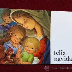 Postales: POSTAL NAVIDEÑA . IMPRESO EN A. G. COBAS - BARCELONA . TAMANO 6.5 X 10.5 CM. Lote 117928450