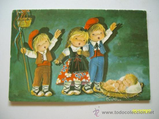 FELICITACION NAVIDAD CONSTANZA (1978) (Postales - Postales Temáticas - Navidad)