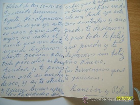 Postales: FELICITACION NAVIDAD CONSTANZA (1978) - Foto 2 - 30989085
