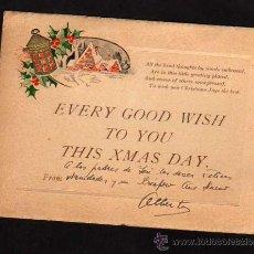 Postales: ANTIGUA FELICITACION NAVIDAD - AÑOS 1960. Lote 32017646