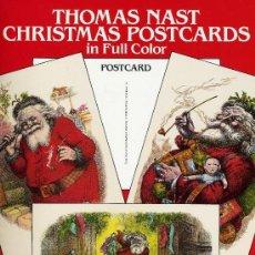 Postales: ANTIGUOS CHRISTMAS POSTCARDS. THOMAS NAST (ANTIGUAS POSTALES NAVIDEÑAS). Lote 32219347
