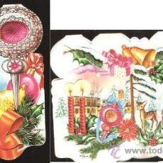 Postales: FELICITACIÓN NAVIDAD TROQUELADA ZSOLT - AÑO 1973. Lote 32269388