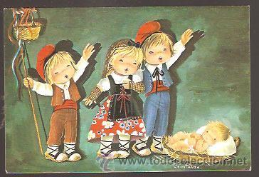 FELICITACIÓN NAVIDAD CONSTANZA 1977 (Postales - Postales Temáticas - Navidad)