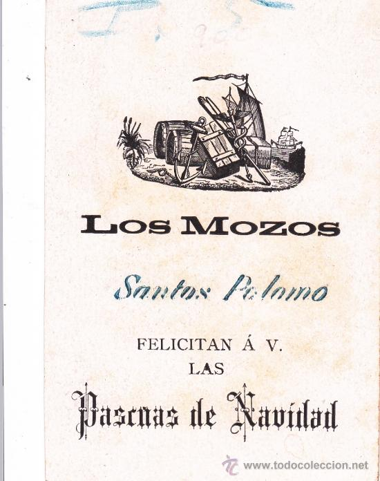Postales: Los Mozos Santos Palomo felicitan las Pascuas de Navidad - Foto 2 - 32626391