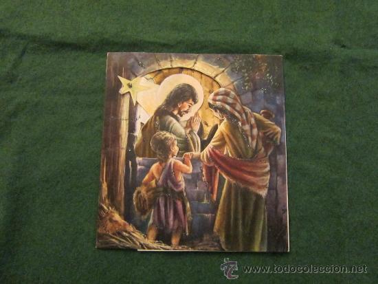 POSTAL DEL NACIMIENTO DEL NIÑO JESUS (Postales - Navidad)