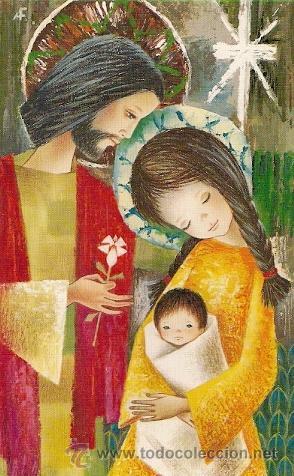 POSTAL DE NAVIDAD DIPTICO (Postales - Postales Temáticas - Navidad)