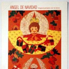 Postales: POSTAL NAVIDAD. ANGEL DE NAVIDAD. TROQUELADA. . Lote 34750334