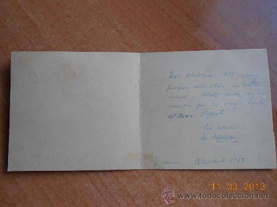 Postales: Antigua Postal Navidad 1959/60 - Foto 2 - 36208856