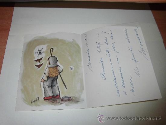 FELICITACION NAVIDEÑA FECHADA 1958 (Postales - Postales Temáticas - Navidad)