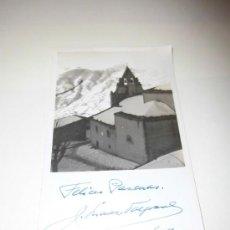 Postales: POSTAL PAISAJE NEVADO FECHADA 1958. Lote 36500206