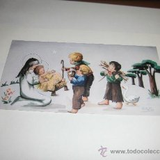 Postales: TARJETA NAVIDEÑA DEL HOTEL GREDOS MADRID NIÑOS PASTORES. Lote 36593442