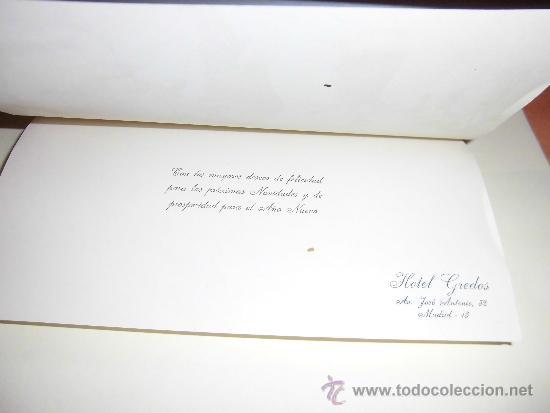 Postales: TARJETA NAVIDEÑA DEL HOTEL GREDOS MADRID NIÑOS PASTORES - Foto 2 - 36593442