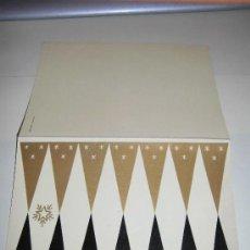 Postales: TARJETA NAVIDEÑA PUBLICIDAD HIGINIO BLANCO BAÑERES 1957. Lote 36598088