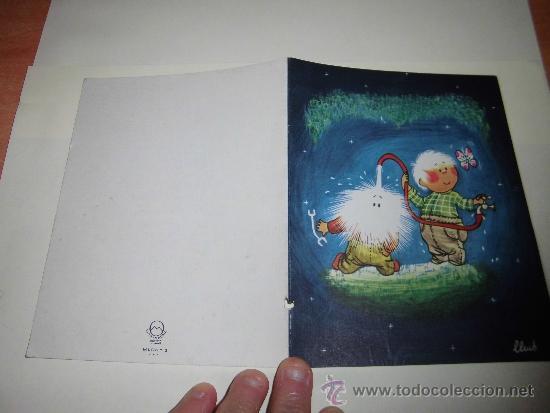 TARJETA NAVIDEÑA GAMBERRADA PUBLICIDAD HOTEL GREDOS MADRID (Postales - Postales Temáticas - Navidad)