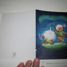 Postales: TARJETA NAVIDEÑA GAMBERRADA PUBLICIDAD HOTEL GREDOS MADRID . Lote 36598220