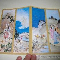 Postales: TARJETA NAVIDEÑA REYES EN CHINA. Lote 36598317