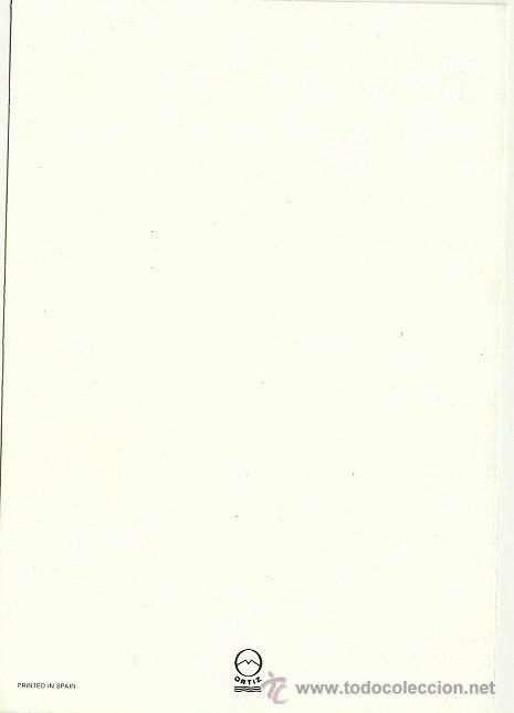 Postales: 0835E - EDICIONES ORTIZ - DIPTICA 16,5X11,3 CM - ILUSTRA MARIA - Foto 2 - 37055681