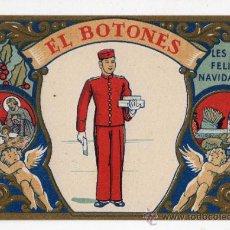 Postales: EL BOTONES LES DESEA FELICES NAVIDADES. AÑOS 50.. Lote 37157345