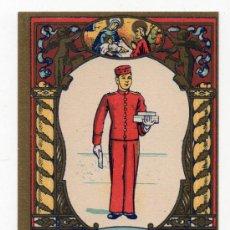 Postales: EL BOTONES LES DESEA FELICES NAVIDADES. AÑOS 50.. Lote 37157371