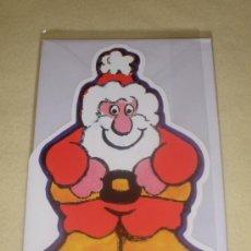 Postales: POSTAL DOBLE TROQUELADA NAVIDAD - DIS2 - PAPA NOËL. Lote 37888281