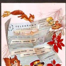 Postales: FELICITACION NAVIDAD VERNET - AÑO 1975. Lote 78158427