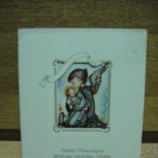 Postales: FELICITACION NAVIDEÑA - DIPTICO CON VENTANA TROQUELADA - 14 X 11. Lote 38655091