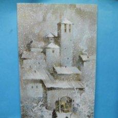Postales: FELICITACION - POSTAL DE NAVIDAD - CIRCULADA - BALLESTAR - DIPTICA. Lote 38761728