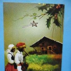 Postales: FELICITACION - POSTAL DE NAVIDAD - CIRCULADA - DBLADE - DIPTICA. Lote 38763441