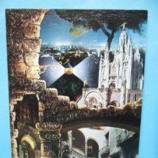 Postales: FELICITACION - POSTAL DE NAVIDAD - CIRCULADA - DBLADE - DIPTICA. Lote 38763455