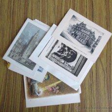 Postales: LOTE DE 17 FELICITACIONES DE NAVIDAD - 3 SIN FECHA 1 AÑOS 40 Y RESTO AÑOS 50 . Lote 39405988