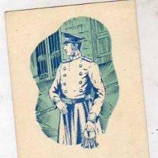 Postales: EL SERENO LE DESEA FELICES PASCUAS Y PROSPERO AÑO NUEVO. FELICITACIÓN NAVIDAD.. Lote 39468969