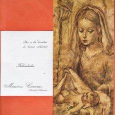 Postales: FELICITACION NAVIDEÑA / NAVIDAD - MASRIERA CARRERAS S.A. - SANTANIT / GRUART - AÑO 1971 - RD27. Lote 40139973