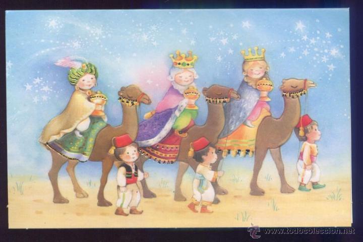 Felicitaciones De Navidad Con Los Reyes Magos.Felicitacion Navidad Los Reyes Magos De Orient Vendido En