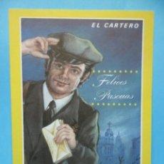 Postales: EL CARTERO - FELICES PASCUAS - . Lote 40663607