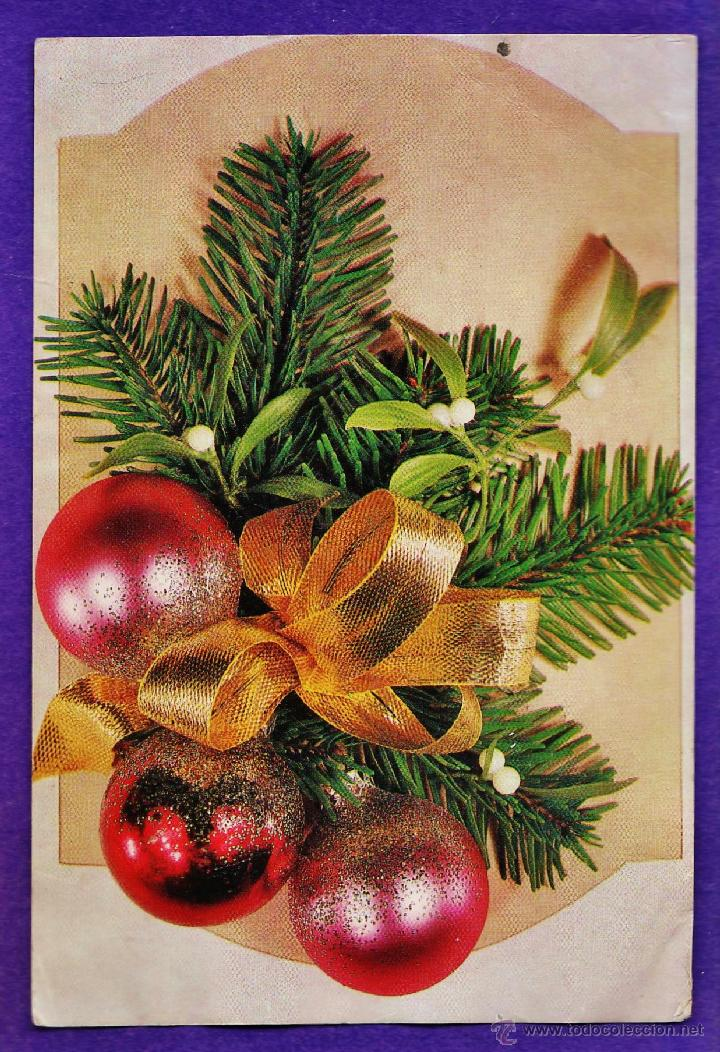Postal Navidad Navideña Alegoria Ed Pied Comprar Postales