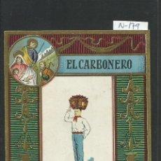 FELICITACION NAVIDAD OFICIOS - EL CARBONERO - (N-179)