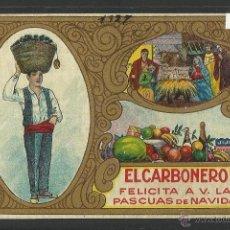 FELICITACION NAVIDAD OFICIOS - EL CARBONERO - (N-184)