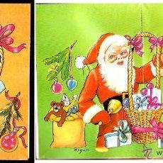 Postales: FELICITACIÓN TROQUELADA NAVIDAD ZSOLT- * PAPA NOEL . AÑO 1974. Lote 41155566