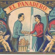 Postales: PS 0022 FELICITACIÓN GREMIOS - EL PANADERO - 1958. Lote 41380015
