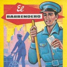 Postales: TARJETA NAVIDAD - EL BARRENDERO LES DESEA FELICES PASCUAS Y PROSPERO AÑO NUEVO. Lote 41851726