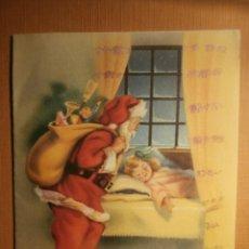 Postales: POSTAL NAVIDEÑA - EDITORIAL ARTIGAS - SERIE 4021 MOD. E - ESCRITA - 1953 -. Lote 43236802