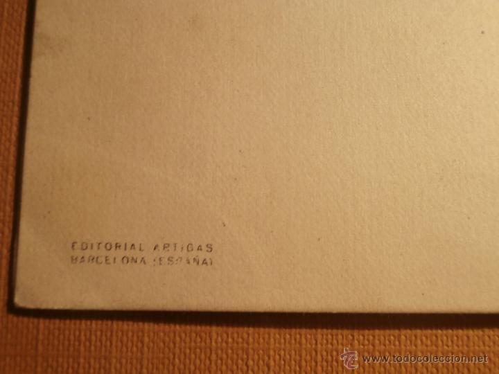 Postales: Postal Navideña - Editorial Artigas - Serie 4021 Mod. E - Escrita - 1953 - - Foto 3 - 43236802