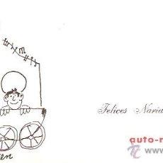 Postales: FELICITACIÓN NAVIDAD -AUTO RADIO BALMES. Lote 43712881
