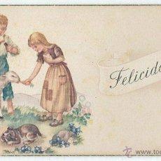 Postales: ANTIGUA TARJETA POSTAL FELICITACION NAVIDEÑA, NAVIDAD - 1952. Lote 44158213