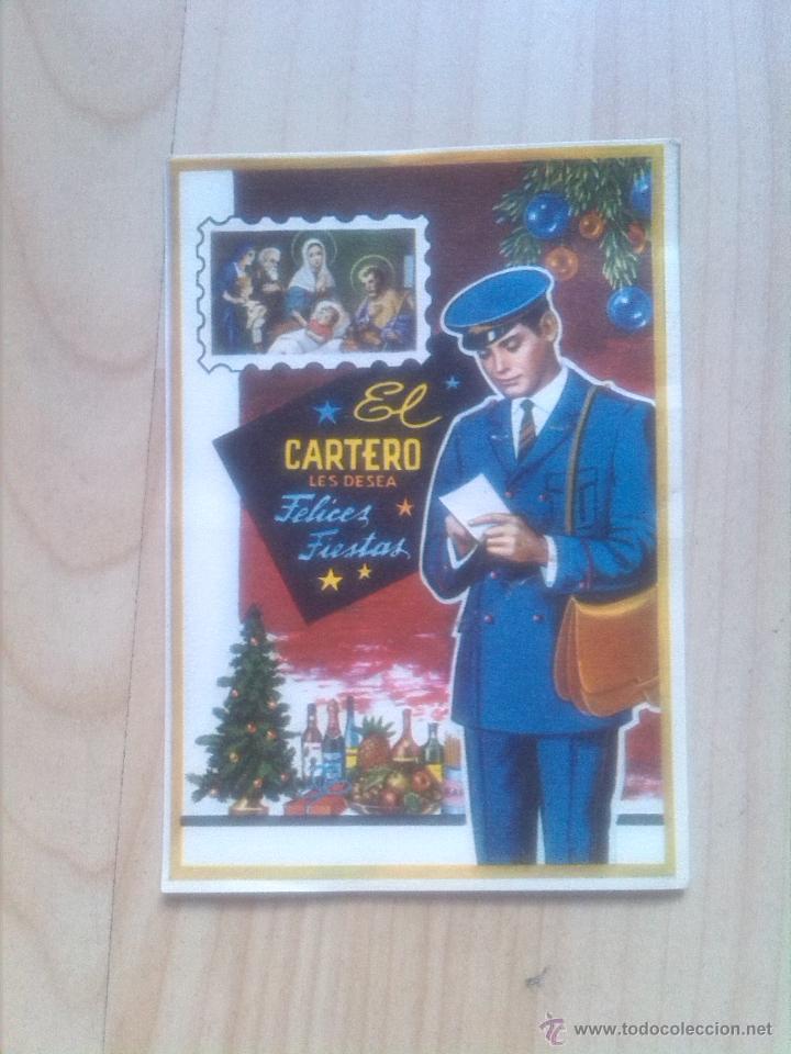 POSTAL - FELICITACION DE EL CARTERO (Postales - Postales Temáticas - Navidad)