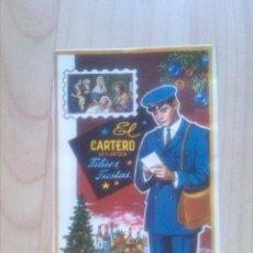 Postales: POSTAL - FELICITACION DE EL CARTERO. Lote 44995447