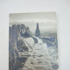 Postales: TARJETA DOBLE - PAISAJE NEVADO - FOTOGRAFICA - 13X9 - ESCRITA EN 1970. Lote 45734514