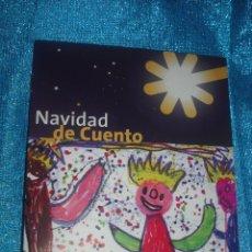 Postales: POSTAL DE NAVIDAD DISEÑADA POR NIÑOS + CUENTO INFANTIL. Lote 46017632
